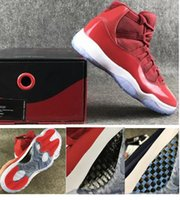 Wholesale Real Navy - Real Carbon Fiber 11 11s Gym Red Win Like 96 Men Midnight Navy Win Like 82 Basketball Shoes Top Quality Sneakers With Box