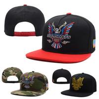 Wholesale Usa Eagles - High Quality Dipset USA Diplomats Eagle Logo Snapback Caps & Hats Snapbacks Snap Back Hat Men Women Baseball Cap Sale