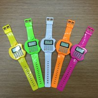 Wholesale Cheapest Calculators - Multi-Purpose Cheap Calculator Wristwatch with Date Time Fashion Electronic Digital Watches Silicone Sports LED Watch for Kids Children Gift
