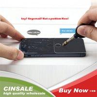 apple iphone 4s azul venda por atacado-Alta transparant 0.26mm ultra fina anti luz azul anti zero 9 h dureza protetor de tela de vidro temperado para iphone 4 4s 5 6