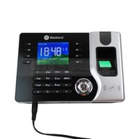 Wholesale Fingerprint Time Attendance Tcp - Attendance Fingerprint Time Clock 2.4inch TFT Color Screen TCP IP 1000 User for Track Employee Time