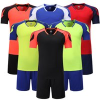 5704b778e Free epacket Customized Soccer Team 2017 Soccer Jerseys Sets