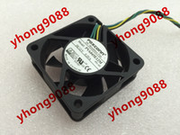Wholesale Dual Ball Bearing - Free Shipping For FOXCONN PVA045E12M -P01-AE DC 12V 0.20A, 4-wire 4-pin connector 40mm, 45x45x15mm Server Square fan
