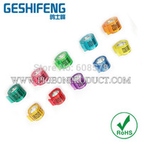 Wholesale High quality latest high quality Racing Pigeon Ring can put chips ring