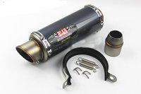 Wholesale Scooter Modified - 51mm Universal Carbon Fiber Motorcycle Modified Scooter Yoshimura Exhaust Muffle Pipe GSXR CBR250 CB400 CB600 YZF FZ400 Z750