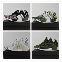 Wholesale High Fashion Discount Shoes - Original 2017 High Quality NMD XR1 Discount Cheap Duck Camo X City Sock Pk Wool Boost for Top Quality Fashion Running Shoes Size 36-45