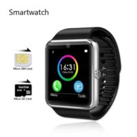 Wholesale Watches Sim Card - SmartWatch KO-GT08 SIM Card Camera Sync Notifier Android Montre Connecte Watch Movil Reloj Inteligente GT08 Bluetooth Orologio