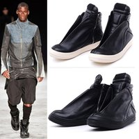 Wholesale Shoes Brands Wings - luxury brand Dark trend Hip-HOP personalized genuine leather wing design england owen street ankle Boots martin shoes
