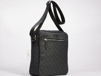 Wholesale Leather Messanger Bags - 2016 New Mens small canvas Messanger Bags Crossbody Shoulder Bags For Men Business Outdoor Casual Traver Small Handbags Purse
