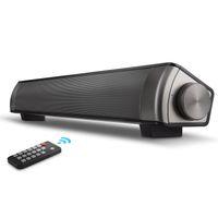 drahtloses heimkinosystem großhandel-Soundbar Surround Sound Bar Heimkinosystem mit Kabel, TF-Karte, Bluetooth-Lautsprecher - Kabellose Soundbar für TV, PC, Mobiltelefon, Tablet
