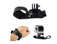 Wholesale Canvas Straps For Bags - Unique Rotating Camera Strap 360 Degree Rotation Wrist Band Hand Strap Mount Belt for Gopro Hero 2 3 3 MOQ:5PCS