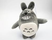 Wholesale Chinese Dolls For Kids - 2017 New Mini 10cm plush toy kawaii anime totoro keychain totoro doll kids toy