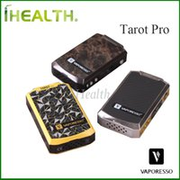 Wholesale Accurate Metals - Vaporesso Tarot Pro Mod 200w VTC Mod with CW CT Functions RB Circuit Firmware Upgradeable Accurate Performance 100% Original