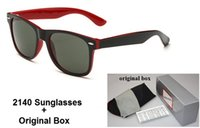 Fashion black box red - New Brand Designer Fashion Men and Women Sunglasses UV Protection Sport Vintage Sun glasses Retro Eyewear With box and cases