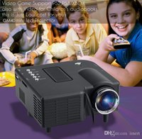 Wholesale Dvd Theater - New Excelvan LED LCD Portable Mini Multimedia Projector AV   USB   VGA   HDMI   SD Home Theater 320*240 for DVD PC GM40