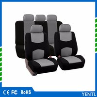 Wholesale automobile supply - free shipping Automobiles Seat Covers Full Car Seat Cover Universal Fit Interior Accessories Seat Decoration Protector Auto Interior supply