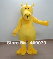 Wholesale Costume Moose - Wholesale-high quality yellow moose mascot costume for adults to wear