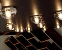 Wholesale Wall Chandelier Lamp - 2017 New American brief magic ball crystal wall lamp led 3w meteor shower stair lamp aisle bedroom passageway hotel engineering fixture