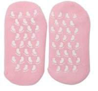 Unisex Soft Pure Moisturizing Gel Socks Foot Foot Spa Socks Foot Treatment Anti-slip бесплатная доставка wen4333