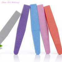 Wholesale 5pcs Double Side High Quality Nail File Buffer Washable Manicure Tool Multicolor