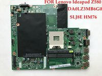 Wholesale Top Laptop Motherboards - Wholesale Top quality Laptop motherboard FOR Lenovo Ideapad Z580 DA0LZ3MB6G0 11S90000921 SLJ8E HM76 PGA989 DDR3 Fully tested