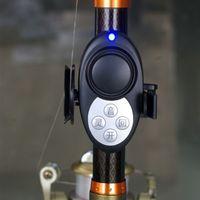 Wholesale Carp Alarms - free dhl waterproof Sensitivity digital fishing bite alarm volume adjustable bite indicator banding on the rod for carp fishing