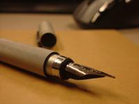 ingrosso fontane-Penna stilografica rotonda in alluminio Giappone made in Japan pennino fine F / S