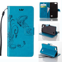 Wholesale S3 Mini Wallet Phone Covers - Luxury Embossed Butterfly Purse Holster Insert Cards Phone Leather Case Cover For Samsung S6 S7 Edge Plus J1 ACE S3 S4 S5 Mini