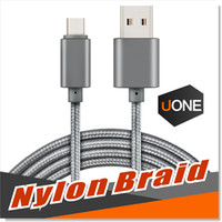 Type-C black rose metal - USB Type C Cable USB Type C to Type A Metal Housing Braided Durable Tinning High Speed Charger Micro USB Cable for Android Type C Devices