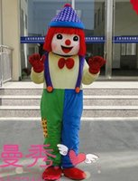 Wholesale 2016 new Halloween Clown Mascot Costume for Adult ems