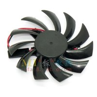 Wholesale graphics card free - Free Shipping Graphics Fan Power Logic PLD08010S12H 12V 0.25A 2Wire DC Brushless Fan,VGA Fans graphics card cooling fan