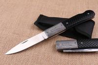Wholesale locking back folding knife for sale - Group buy Factory Direct New EDC Pocket Folding Blade Knife C HRC Satin Finish Blade knife Outdoor Camping Hiking Rescue knives Lock Back