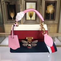 mode mag großhandel-Designerhandtaschen Mag Rit Schmetterlingsartfrauen-Designer sackt echtes Leder ein Große gute Qualitätsmode totes Umhängetasche