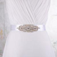 Wholesale Multi Coloured Belts - Wholesale-Bridal Wedding Belt 16 Clors designer belts Rhinestone Bridal Belt Wedding Accessories Bridal Sash For 16 colour