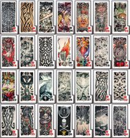 Wholesale Design Arm Sleeve Dresses - 50pcs  Lot Tattoo Arm Sleeves Dress Sleeve Tattoos Fashion 155 Styles Mixed Designs For Men & Women Hot Tattoo Sleeves 2174