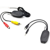 Wholesale Gps Wireless Backup - 2.4 Ghz Wireless Transmitter and Receiver for Portable Car GPS Navigation Auto GPS Navigator to Rear View Reverse Backup Camera