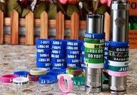 bandas de goma de vapor al por mayor-Nueva silicona antideslizante anillo de goma de protección Vape Bands anillo E cigarrillo Mod anillo para ECig Vapor Mods mecánico RDA atomizador envío gratis