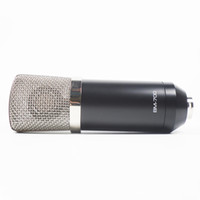 mikrofonfarbe großhandel-Pro DJ und Studio Aufnahme Electret Kondensatormikrofon NEIN Phantomspeisung Mikrofon mit BlackBlue Two Color Choice