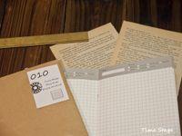 Wholesale notebook grid - Wholesale- Travelers' notebook refill hardiron midori standard type 010 Diary grids
