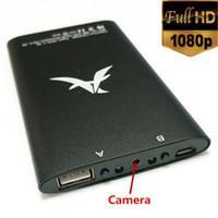 Wholesale Iwo Power Bank - 1080PDV HD SPY Hidden Mobile Power Bank Night Vision Camera Motion Detection Cameras