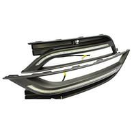 Wholesale Passat Fog - Daytime Running Lights LED DRL Daylight Fog Lamps Kit for 2011 2012 2013 2014 Volkswagen Passat B7
