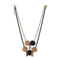 Golden Multiple Beads Luxury Choker Necklace Fashion Statement Colares Feminino Acessórios Mulheres Jóias Gift Hot Sales