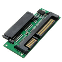 Wholesale board assembly - Wholesale- Mini 1.8 Micro 2.5 inch SATA Adapter Converter Card SATA MSATA TO 7+15 Connector Plated Board Assembly Part Accessories