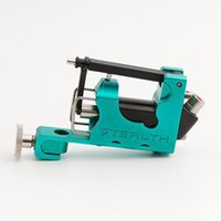 Wholesale Tattoo Machine Green Coils - Electric Tattoo Machine Alloy Stealth 2.0 Rotary Tattoo Machine Green Permanent Makeup Machine Liner&Shader Supply Free Shipping