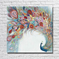 Wholesale Nude Oil Painting Large - Hand painted abstract cartoon animal oil painting large size high quality cheap canvas wall pictures for bedroom