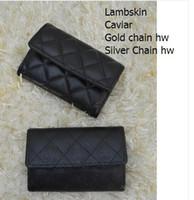 Wholesale Korean Silk Short Dress - Mini Card & ID Holders Women Genuine Leather Lambskin Leather Coin Purse Small Purse 50169