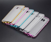 Wholesale S3 Mini Glitter - Electroplating Glitter Shimmering TPU + PC Cover Case For iPhone 5S 6 Plus Samsung S3 S4 S5 Mini S6 S7 Edge Note 3 4 5 E5 E7 A9 LG G4 G5 V10
