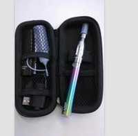 Wholesale ego rainbow spinner resale online - Ego starter kit Vision Spinner Rainbow Battery CE4 atomizer Zipper box eGo C Twist variable voltage ego twist battery Electronic cigarette