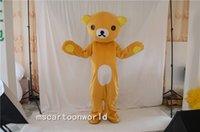 mascotes de urso adulto venda por atacado-2016 facilmente suportar o natal do dia das bruxas ele cartoon trajes para festa de halloween suprimentos tamanho adulto trajes da mascote