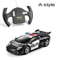 Wholesale Rc Car Ch - Wholesale-Hot toy car New 1:24 Control Car Simulation Models Children's gift 4 Ch RC Electric Mini Radio Control Car Toy Electronic Car